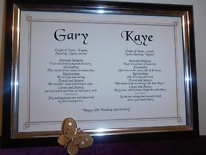 GOLD-EDGED-DOUBLE-NAME-SCROLL-FOR-50th-WEDDING-ANNIVERSARY-034-GOLDEN-ANNIVERSARY-034