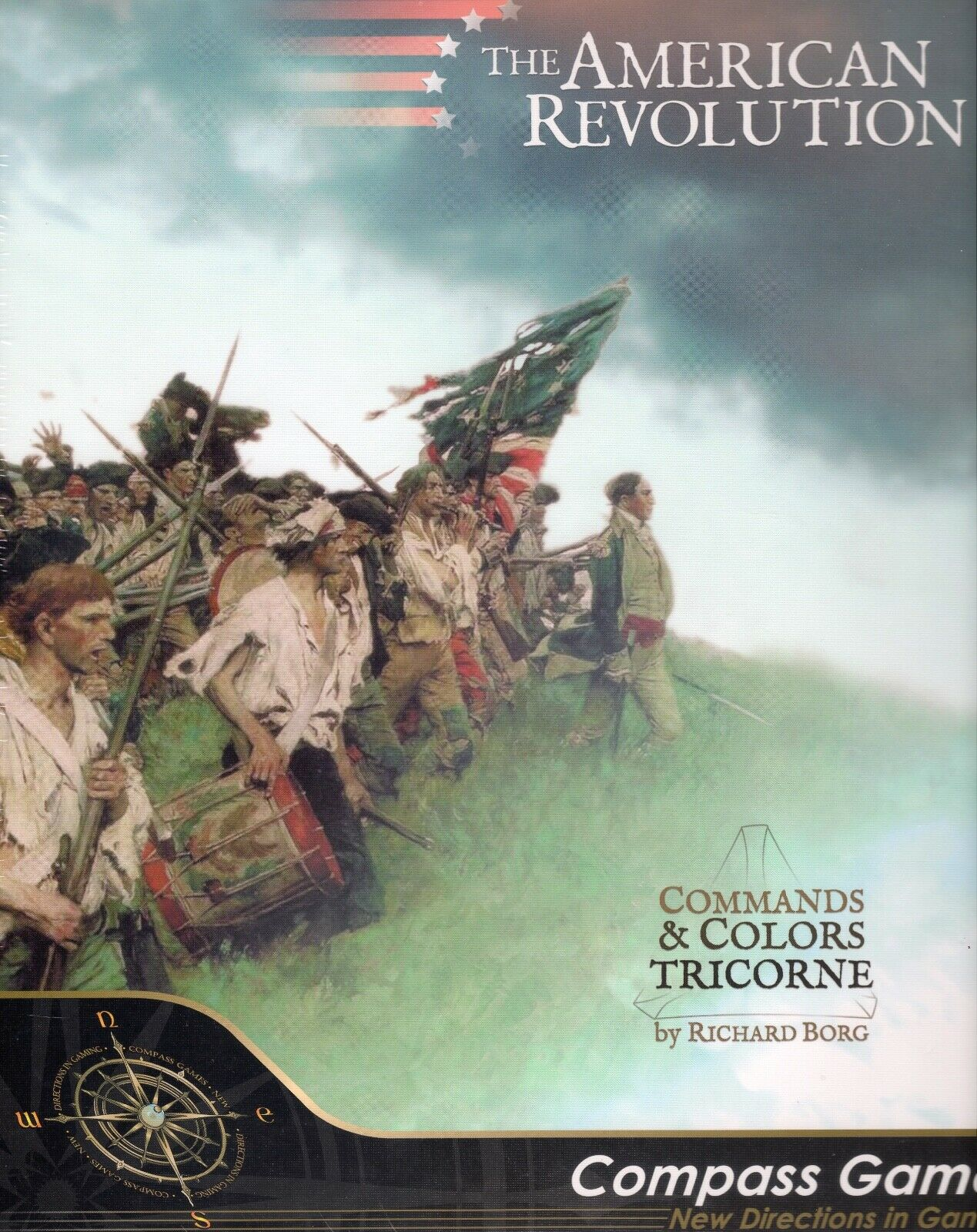 Compass Games  Commands & Couleurs (tricorne)  La Révolution Américaine Core Game