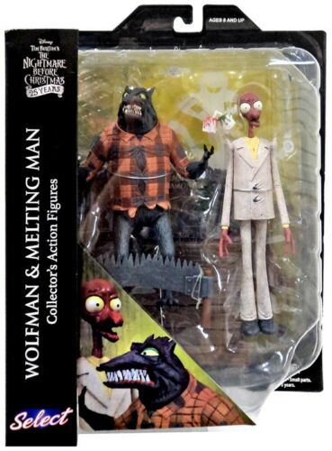 Nightmare Before Christmas Select Series 5 Wolfman /& Melting Man Action Figure