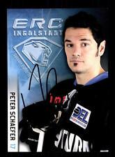 Peter Schaefer Autogrammkarte ERC Ingolstadt 2010-11 Original Signiert+A 136894