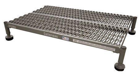 Steel 6 to 9 In H Work Platform Adjustable Height