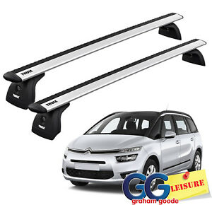 Thule-Evo-WingBars-Roof-Rack-Rail-Bars-Citroen-C4-Grand-Picasso-2014-onwards