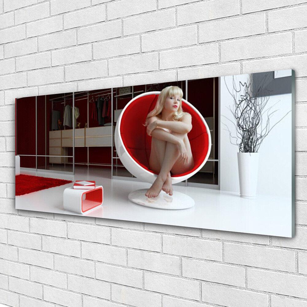 Tableau mural Image sur Plexiglas® 125x50 Personnes Personnes Personnes Femme Paix cb0124