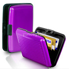 Aluminum Metal Credit Card Wallet Debit Business ID Holder Purse Case Pocket Box