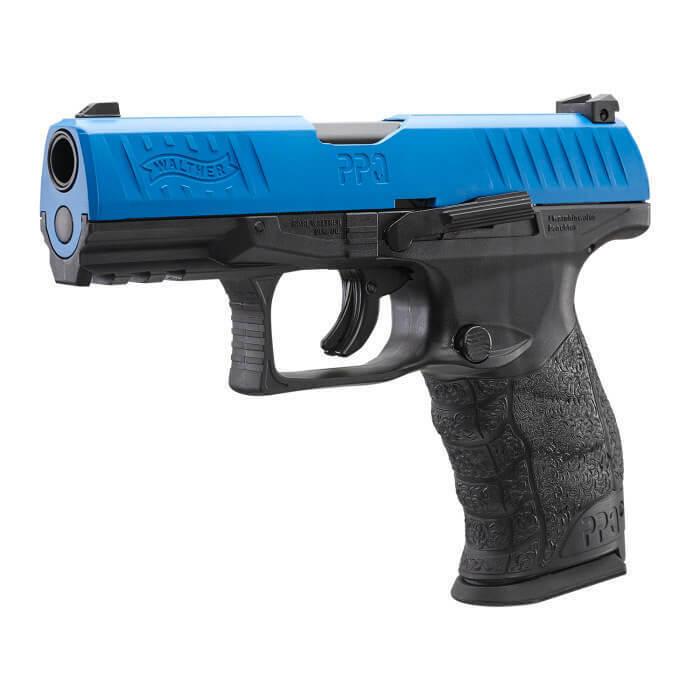 30x CO2 Kapseln und 50x Nylon Balls cal.43 Walther PPQ M2 T4E RAM Pistole LE