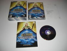 AGE OF WONDERS Shadow Magic Pc Cd Rom Boxed with large manual  FAST POST