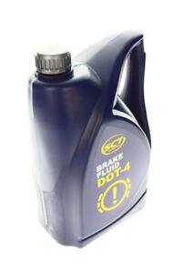SCT BREMSFLÜSSIGKEIT DOT 4, 4,67 Liter, 5KG Made in GERMANY Brake Fluid