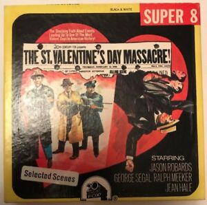 St Valentine S Day Massacre Very Rare Super 8 8mm Cine Film Movie