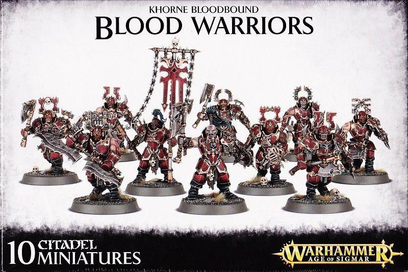 Khorne Bloodbound Blood Warriors Games Workshop Warhammer Age of Sigmar