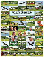 Mt. View Field Airport 2013 Fly In Poster - Hampshire Grass Strip - Quality