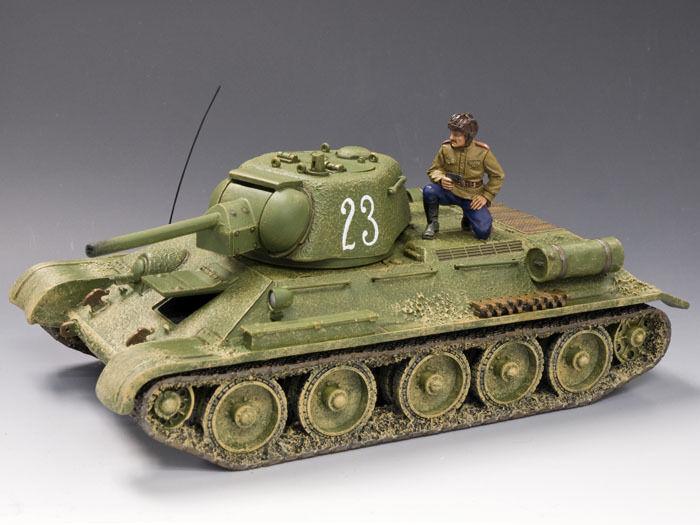 King & Land Fall Of Berlin RA025-01 Russisch T34 76 Tank Set MIB