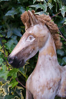 Wooden Rocking Horse, French Shabby Chic- 6 - Beautiful Gift