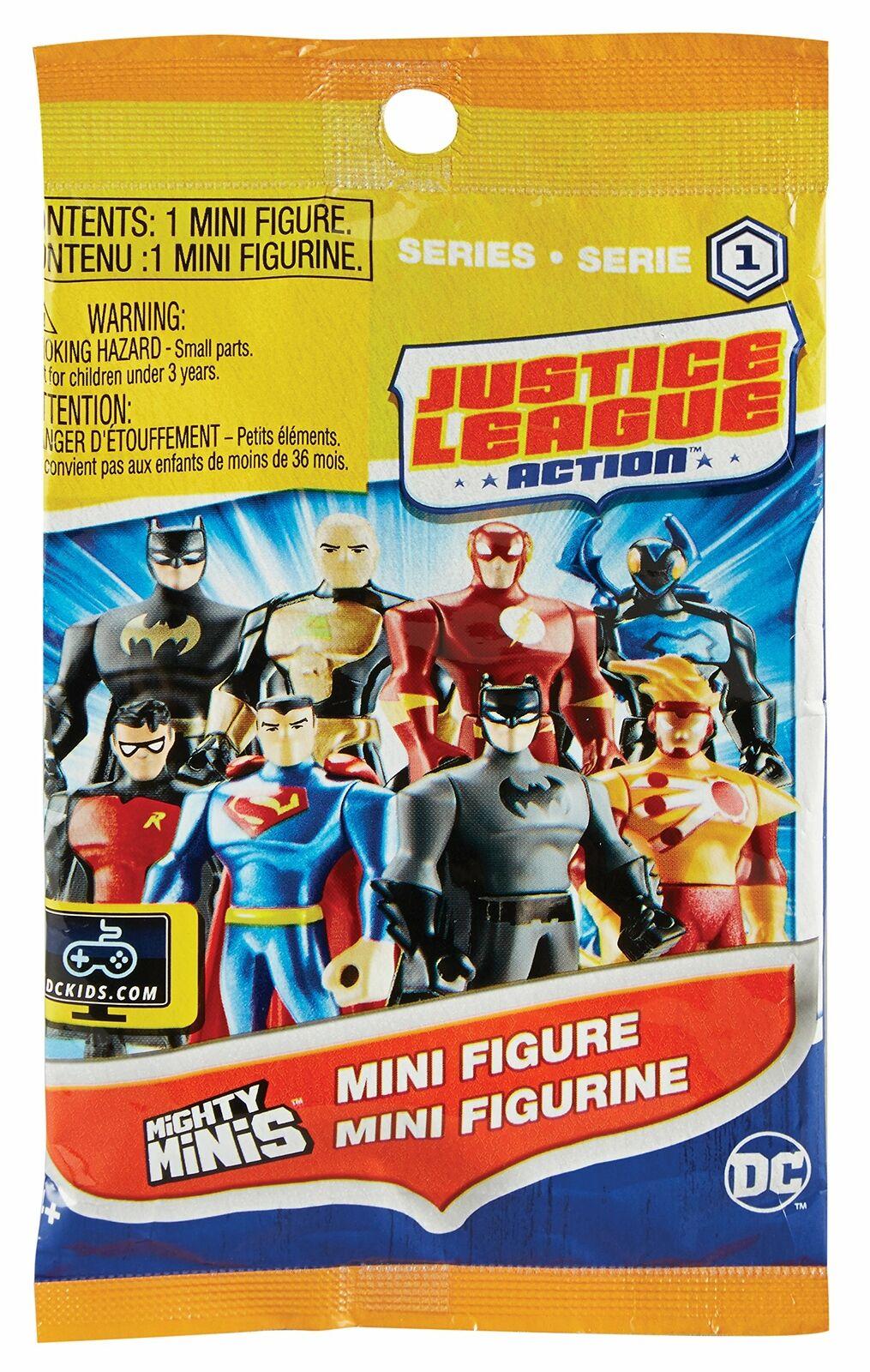 12 Stk Justice League Action Sammel Figuren im Blindbag