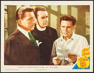 Poster-Lobby-Card-The-Postman-Always-Rings-Twice-1946-11-034-x14-034-VF-8-5-Movie