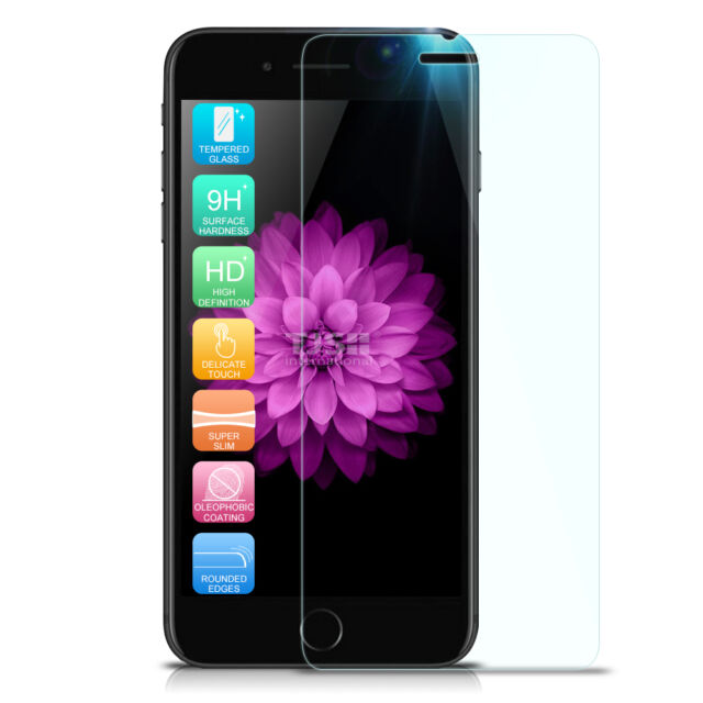For iPhone 8 7 Premium Tempered Glass Screen Protector For Apple iPhone 8 7 6s 6