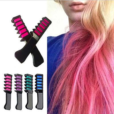 Hair Mascara New Design Crayons Hair Color Chalk Temporary Diy Hair Dye Comb Diy Ebay