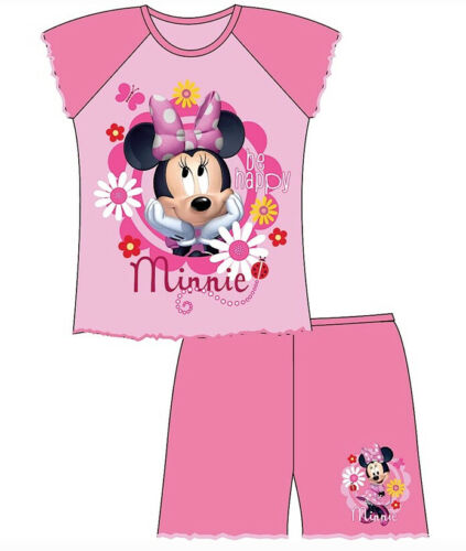 4Years Wrapping Available GIRLS DISNEY MINNIE MOUSE SHORTIE PYJAMAS 12Months