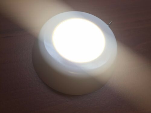 Pactrade Marine 2 of Boat Warm White LED Ceiling Light Glare Free Lens