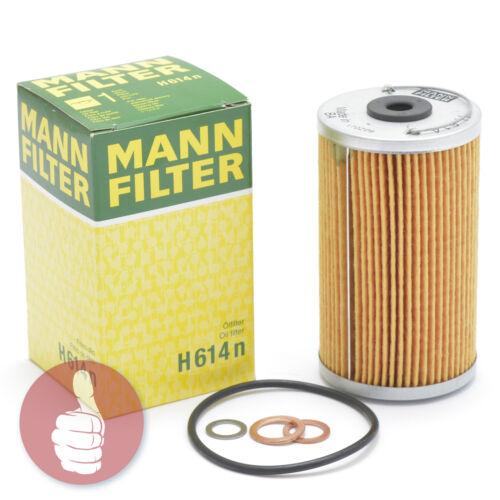 Original Homme-Filtre Filtre à huile H 614 N Mercedes-Benz