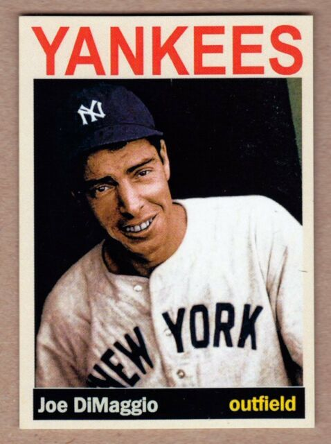 Joe DiMaggio '36 New York Yankees Monarch Corona Private Stock #38 mint cond.
