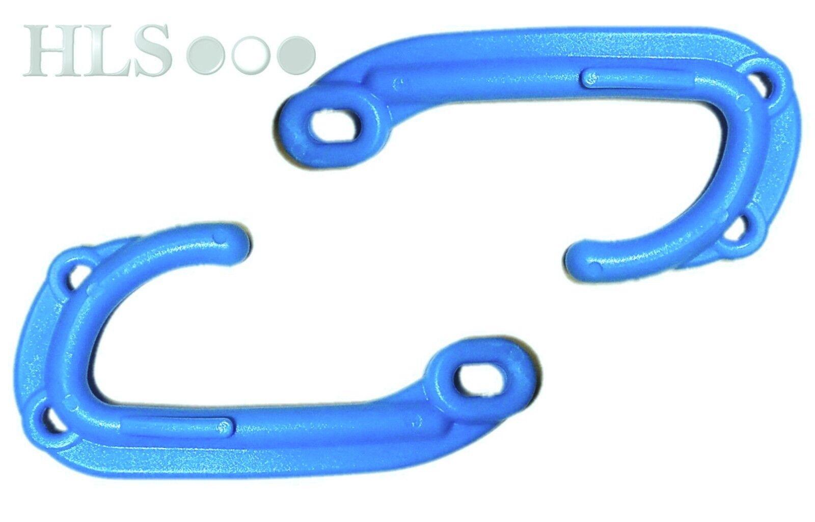 500 x plastic creel hooks, very strong easy grip lobster pot door hook [3HH]