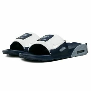 Details about Nike Air Max 90 Slides Women's Beach New flip flop Black white CT5241-002