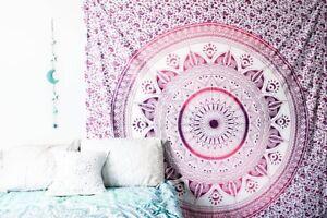 Twin-Indian-Mandala-Tapestry-Hippie-Queen-Wall-Hanging-Bedspread-Blanket-Throw