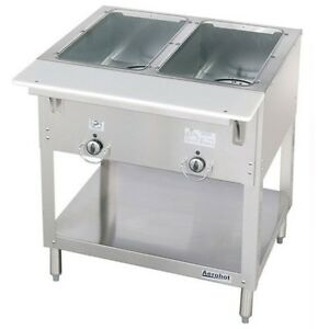 New 2 Well Lp Propane Steam Table Dry Bath Duke 302 Lp