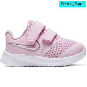 Nike Star Runner 2 TDV rosa plata zapatillas deportivas para bebé niña