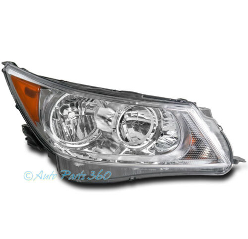 FOR 10-13 BUICK LACROSSE CHROME REPLACEMENT HEADLIGHT HEADLAMP PASSENGER RIGHT