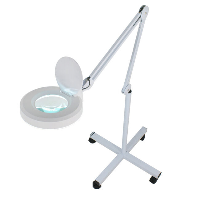 5x magnifier lamp glass adjustable rolling floor stand magnifying 16 5x magnifier lamp glass adjustable rolling floor stand magnifying 16 diopter aloadofball Image collections