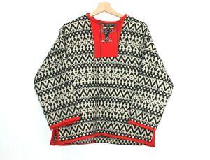 WILLIAM-SCHMIDT-NORWAY-Pure-Wool-Cardigan-Nordic-Fairisle-Womens-Size-38-Medium