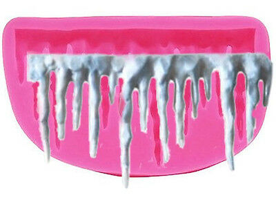 Icicle Frozen Silicone Mold for Fondant, Gum Paste, Chocolate, Crafts NEW