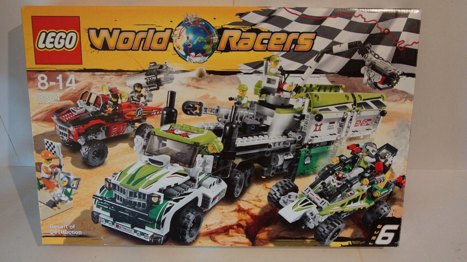 Lego 8864 - World Racers  - Finale in der Wüste