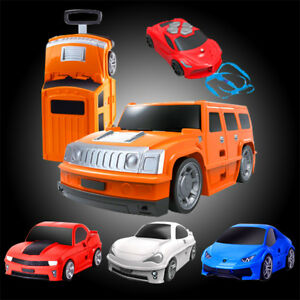 Kids-Electric-Remote-Control-RC-Car-Travel-Luggage-Suitcase-Trolley-Wheeled-Bag