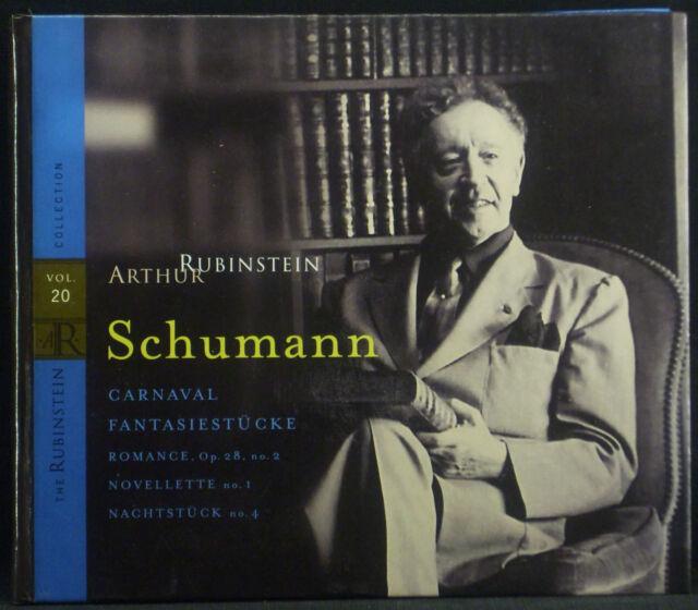 CD RUBINSTEIN - Schumann carnaval u.a., collection vol. 20