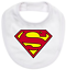 Baby romper suit one piece PLUS a baby bib superhero SUPERMAN new cotton