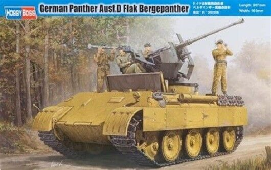 Hobbyboss 82492 1 35th scale German Panther Ausf D Flak Bergepanther