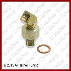 Details about BMW V D O  Oil Pressure Sender Adapter 1/8