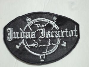 JUDAS-ISCARIOT-BLACK-METAL-EMBROIDERED-PATCH