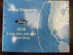 2018 Ford F-250/350/450/550 Super Duty Wiring Diagram | eBay