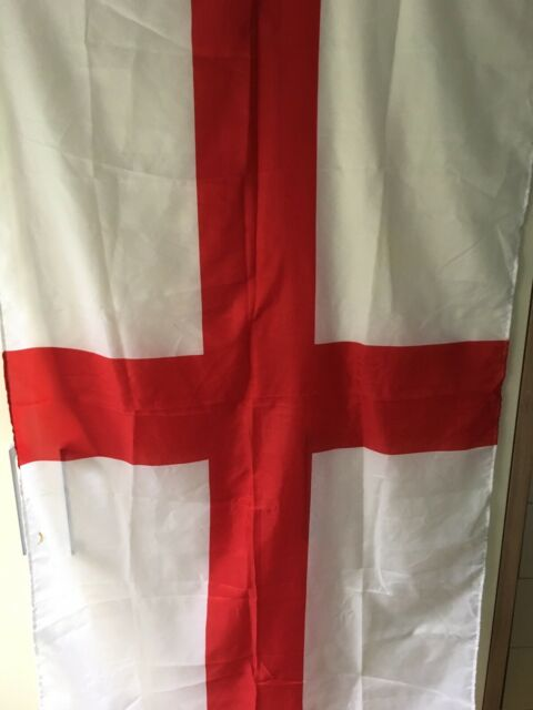 George National Flag 5 X 3 Ft Football Decoration With Eyelets England Fans St
