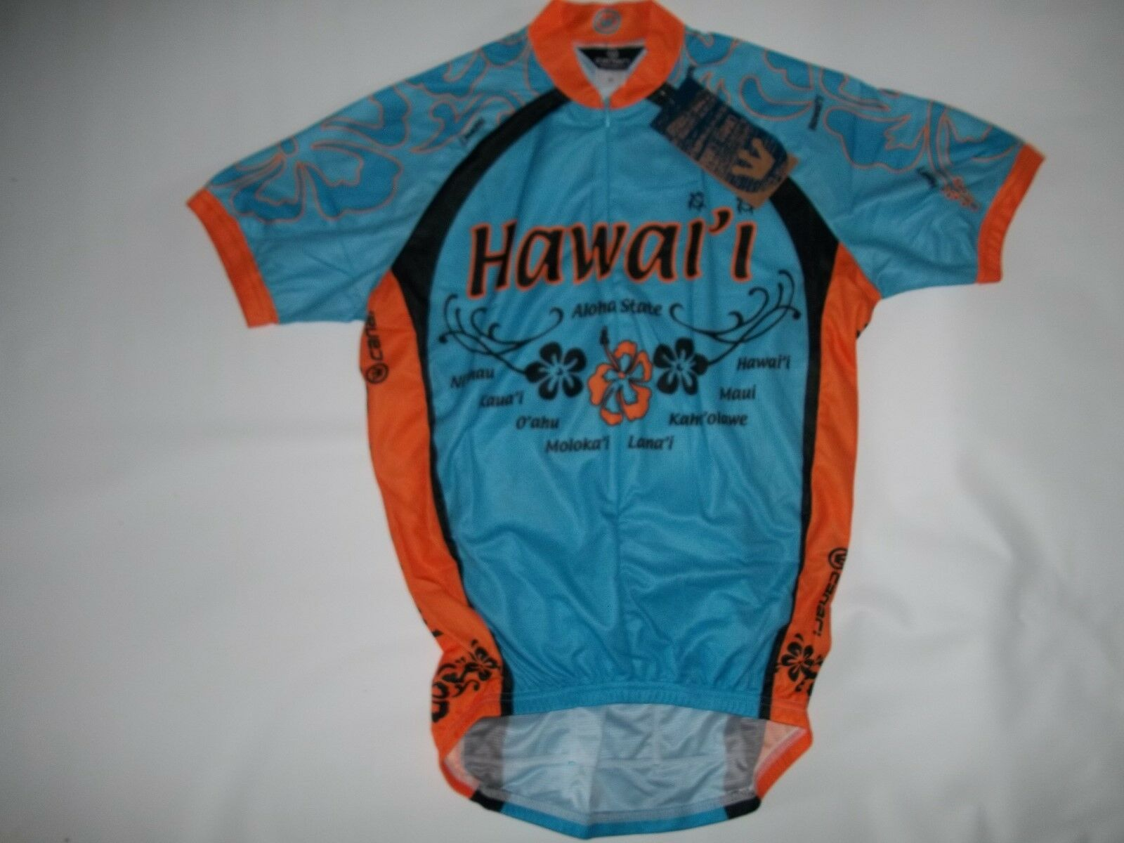 CANARI Cycling HAWAII III Souvenir Short Sleeve Sleeve Short Jersey SHIRT  Herren Größe XS NEW 978655