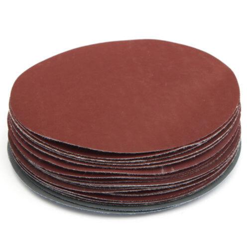 25pcs//Set 6 Sanding Discs Hook Loop 600 1000 1500 2000 3000 Grit Sandpaper