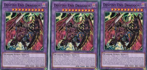 LEHD-ENA31   1ST EDITION DESTINY END DRAGOON YUGIOH 3 X DESTINY HERO