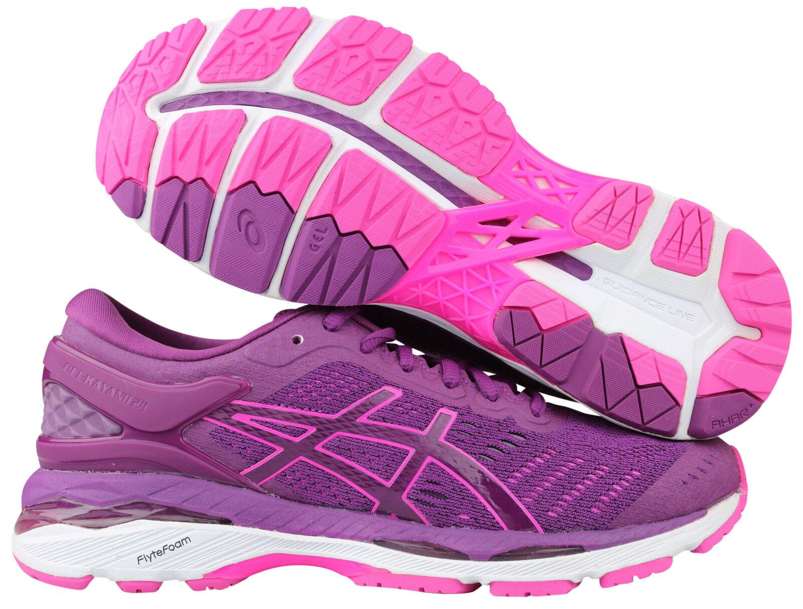 Asics Asics Asics Gel Kayano 24 Damen Running Laufschuhe lila T799N-3320 Gr. 36 - 42 NEU OVP 24f595