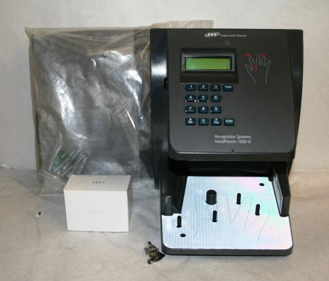 Schlage HandPunch 1000e HP1000E Biometric Hand Recognition Time Clock