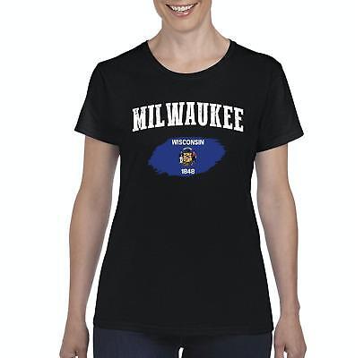 Milwaukee Wisconsin Women Shirts T Shirt Tee Ebay