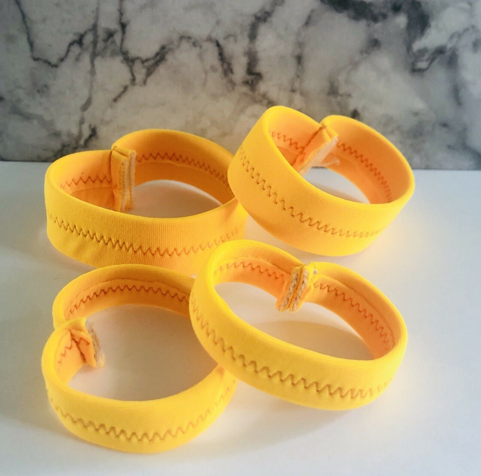 Sunrise Yellow Ankle And Wrist Bands Age 6 - 8