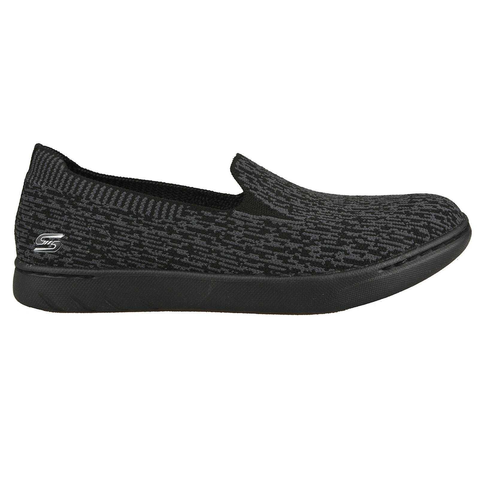NEU SKECHERS Damen Sneakers MILLENNIAL Turnschuhe Slipper Slip On MILLENNIAL Sneakers Schwarz 453a11